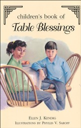 Children's Book of Table Blessings