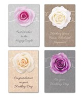 Roses & Lace Wedding Cards, Box of 12