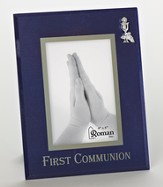 First Communion Photo Frame, Blue