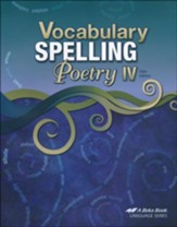 Vocabulary, Spelling, & Poetry IV