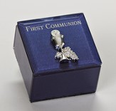 First Communion Keepsake Box, Blue