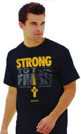 Strong To The Finish Shirt, Black  Small