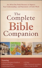 Complete Bible Companion: An All-in-One Study Resource to Improve Your Understanding-and Enjoyment-of God's Word - Slightly Imperfect