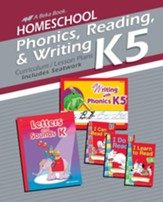 Grade K5 Homeschool Phonics, Reading & Writing   Curriculum--Cursive Edition