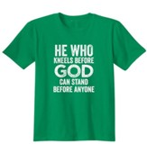 He Who Kneels Before God, Shirt, Irish Green, XX-Large