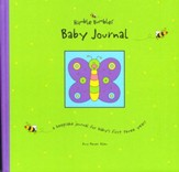 Humble Bumbles Baby Journal Keepsake Book for Baby's 1st Three Years