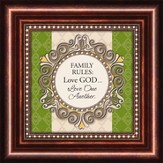 Family Rules, Mini Framed Print