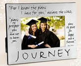 Journey Metal Frame (Jeremiah 29:11)