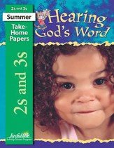 Hearing God's Word (ages 2 & 3) Take-Home Papers