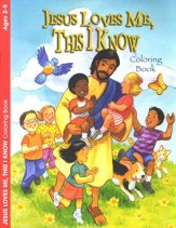 Jesus Loves Me, This I Know, Coloring Book