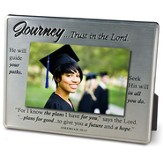 Journey... Trust in the Lord, Jeremiah 29:11, Photo Frame