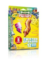 Crayola, Melt 'n Mold Twisted Crayons, Neon Blast Pack