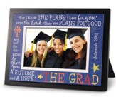 Graduate Multicolor Jeremiah 29:11 Photo Frame