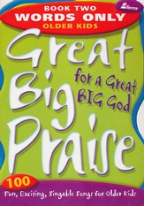 Great Big Praise, Book 2, Words Only Edition