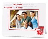 I Know the Plans Photo Frame
