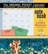 2017 Country Pleasures Note Nook Calendar