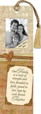 Our Family Is A Circle Photo Bookmark