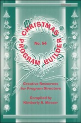 Christmas Program Builder No. 54