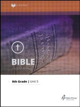 Lifepac Bible Grade 9 Unit 5: The General Epistles