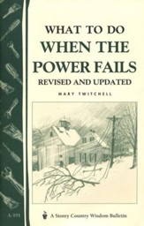 What to Do When the Power Fails (A-191)