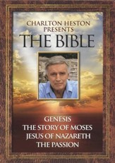 Charlton Heston Presents The Bible, 4-DVD Set