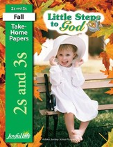 Little Steps to God (ages 2 & 3) Take-Home Papers