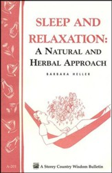 Sleep and Relaxation: A Natural and Herbal Approach (A-201)