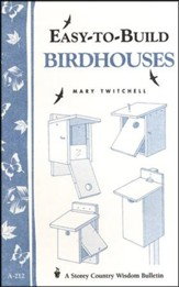 Easy-to-Build Birdhouses (A-212)