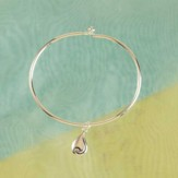 No Tears In Heaven Bangle Bracelet
