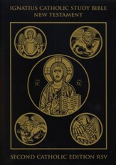 RSV Ignatius Catholic Study Bible New Testament 2nd Edition