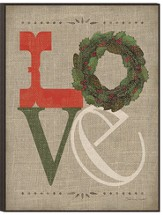 Love, Christmas Wall Art