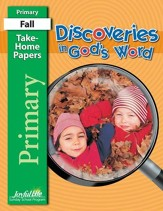Discoveries in God's Word Primary (Grades 1-2)  Take-Home Papers