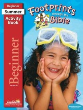 Footprints through the Bible Beginner (ages 4 & 5) Activity Book