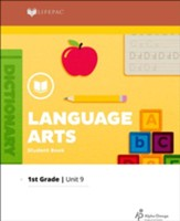 Lifepac Language Arts Grade 1 Unit 9: Diphthongs, Contractions & Poetry