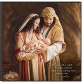 Mary and Joseph, Christmas Wall Art