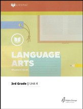 Lifepac Language Arts Grade 3 Unit 4: Words--How To Use Them