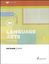 Lifepac Language Arts Grade 3 Unit 6: All About Books