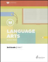 Lifepac Language Arts Grade 3 Unit 7: Reading and Writing