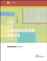 Lifepac Language Arts Grade 3 Unit 9: More Reading and Writing