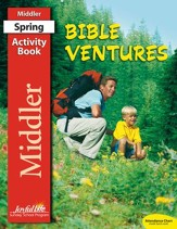 Bible Ventures Middler (grades 3-4) Activity Book  (Spring Quarter)
