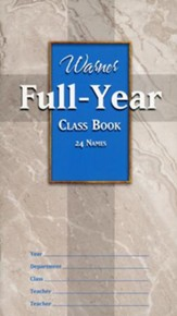 Full Year Class Book (24 names)