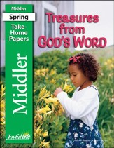 Treasures from God's Word Middler (Grades 3-4) Take-Home Papers