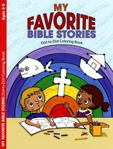 My Favorite Bible Stories, Dot-to-Dot Coloring Book