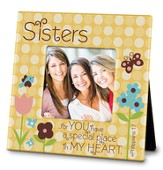 Sister, You Have A Special Place In My Heart Photo Frame