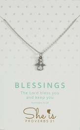 Blessings, Angel Necklace