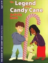 The Legend of the Candy Cane, Coloring / Activity Book Ages 6 to 10