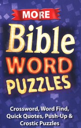 More Bible Word Puzzles Activity Book (8-10)