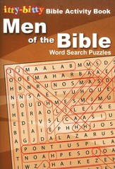 Men of the Bible Crossword: itty-bitty Bible Activity Book