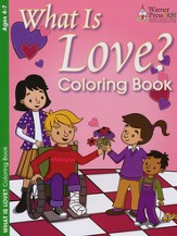 What is Love? Coloring Book (Based on 1 Corinthians 13:1-8, NIV)