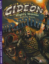 Gideon Mighty Warrior Activity Book (from Judges 6-8, NIV)